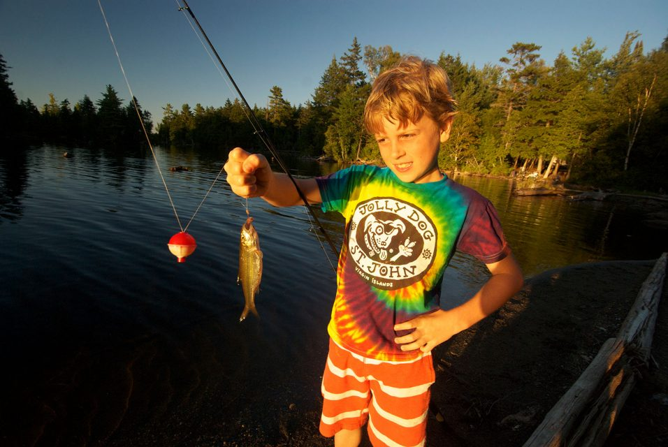 Fishing in the Great North Woods