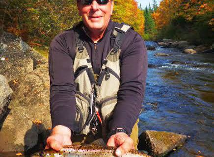 fly fishing, fall, lopstick, pittsburg, new hampshire, NH, connecticut river, salmon