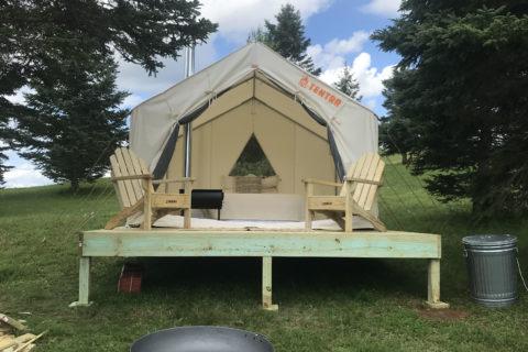 bear rock adventures, pittsburg, NH, New Hampshire, ATV, OHRV, polaris adventures, atv trails, camping, tentrr, tent
