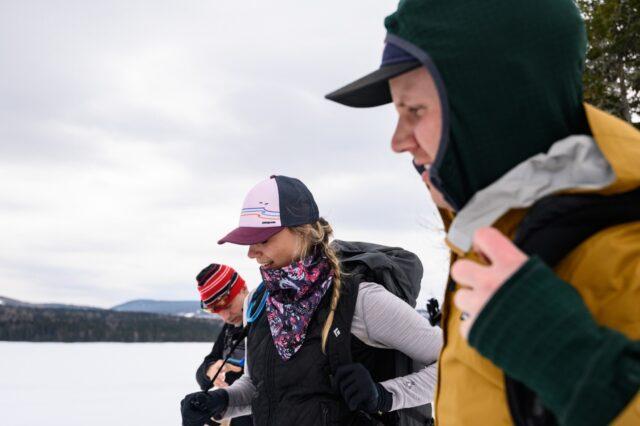 nordic skiing, pittsburg, nh, winter